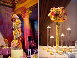Long Vase Centerpieces by Best 25 Indian Wedding Centerpieces Ideas Only On Pinterest