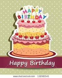 happy birthday card and cake vector happy birthday card birthday