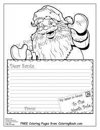 santa coloring pages pertaining property cool