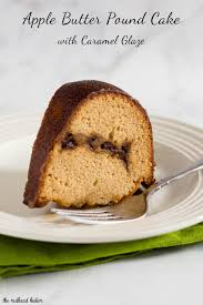 apple butter pound cake recipe by the redhead baker