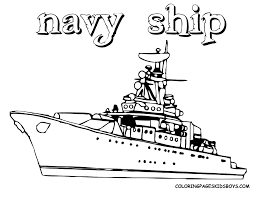 coloring pages navy ships kids coloring page