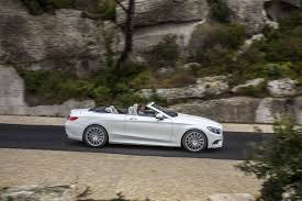 white mercedes convertible 2017 mercedes s500 s63 amg cabriolet review gtspirit