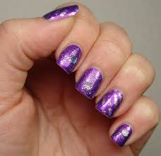 purple nail art designs u2013 acrylic nail designs