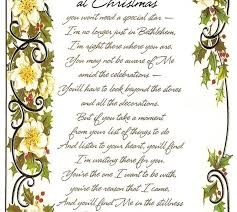 confessions of a holiday junkie if you look for me at christmas poem
