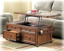 ashley furniture mckenna coffee table storage cocktail tables coffee table w lift top trunk flip up