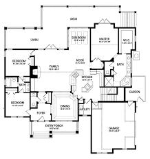 craftsman floor plan saddle creek craftsman home plan 047d 0076 house plans and more