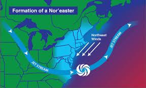 Jet Stream Map Noaa Nasa Scijinks What Is A Nor U0027easter