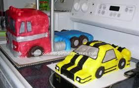 optimus prime cake pan coolest transformers cakes
