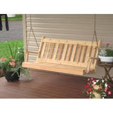 Rattan Swing Bench Porch Swings Wayfair