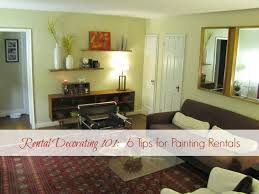 how to decorate a rental home without painting rental decorating 101 6 tips for painting rentals the borrowed