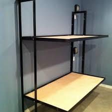 Metal Bunk Bed Ladder Diy Folding Bunk Bed Plans Good But Plenty Of Room For