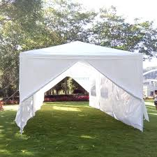 Canopy Tent Wedding by 10x20 Party Tent W 4 Wall White Onebigoutlet Height Adjustable