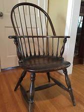 Antique Captains Chair Wingback Chair Antique Furniture Ebay