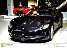 black maserati sports car black maserati editorial image image of sportscar black 18884370