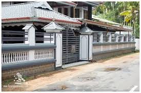 Latest Home Design In Kerala House Compound Wall Designs In Keralareal Estate Kerala Free