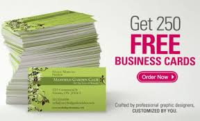 free cards to print free vista print business cards 6729