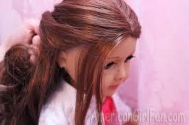 front flip hair doll hairstyle double ponytail flip twist americangirlfan