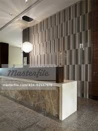 Marble Reception Desk Detail Marble Reception Desk In Lobby Stock Photo Masterfile