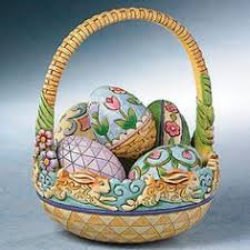 jim shore easter baskets egg and basket votive holder jim shore easter easter