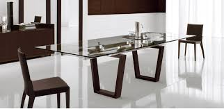 targa extendable glass dining table by cattelan kasala italian