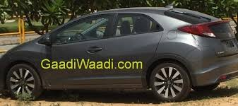 honda civic hatchback spotted in india photos ibtimes india