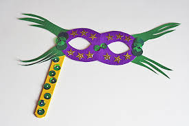 mardi gras mask and duct mardi gras mask kix cereal
