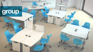 Student Chairs With Desk by Verb Classroom Collection Animation Youtube