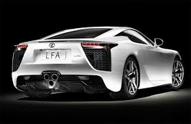 lexus lfa custom exhaust lfa