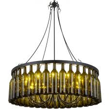 Wine Bottle Chandeliers 158134 Wine Bottle Chandelier Meyda Wine Country Accents
