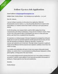Resume Follow Up Letter Template 3 Ways You Need To Follow Up On Your Job Search Resume Genius