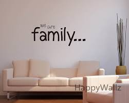 aliexpress com buy we are family home family quote wall sticker
