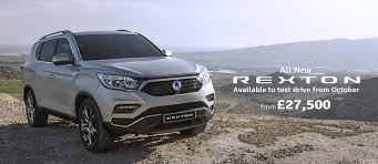 new ssangyong rexton in sheffield south yorkshire grant u0026 mcallin
