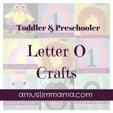 letter o crafts a muslim mama