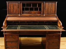 Antique Roll Top Secretary Desk by Antique French Napoleon Iii Pedestal Rolltop Desk In Rosewood C