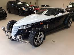 used 2001 plymouth prowler auto convertible in laurier station