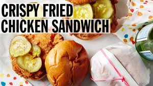 john besh fried chicken crispy fried chicken sandwich how to food network youtube