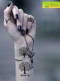 wrist trees grow up tattoomagz
