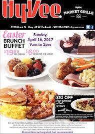 brunch buffet hy vee market grille faribault mn