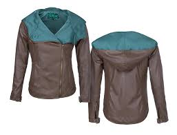 rogue class faux leather ladies u0027 jacket thinkgeek