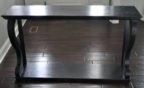 tj maxx console table tj maxx console table after some light sanding i brushed on a coat