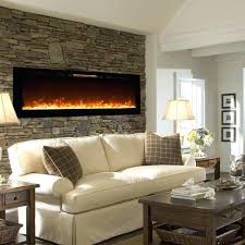 napoleon 60 inch slimline black wall mount electric fireplace real