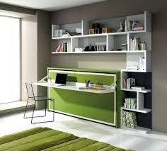 bibliothèque avec bureau intégré design d intérieur bureau integre bibliotheque armoire lit 1
