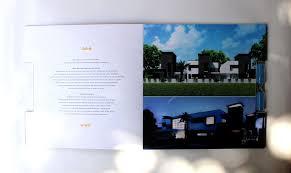 the palms villa brochure on behance
