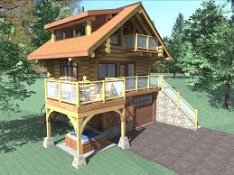 Log Floor by The Bachelor Is A 484 Sq Ft 1 Bedroom 2 Bathroom Two Floor Log