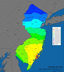 New Jersey Map Office Of The New Jersey State Climatologist