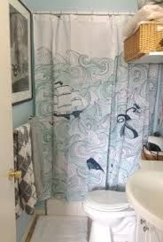 Nautical Window Curtains Nautical Shower Curtains Foter