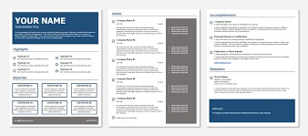 Best Resume In Word Format Resume Templates The Best Resume Format And How To Build It In