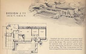 vintage house plan plans 1960s spanish style and