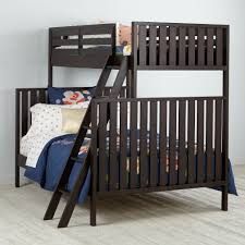 cargo charcoal twin bunk bed the land of nod