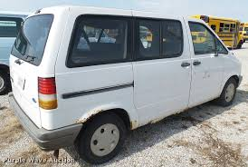 1995 ford aerostar van item da7937 sold july 5 vehicles